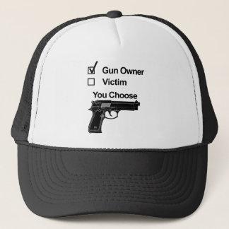 Gorra De Camionero víctima del dueño de arma que usted elige