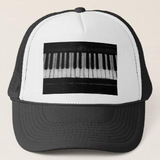 Gorra De Camionero Vieja música del instrumento del teclado de piano