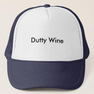 Gorra De Camionero Vino de Dutty