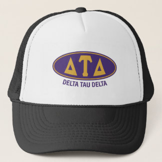Gorra De Camionero Vintage del delta el | del Tau del delta
