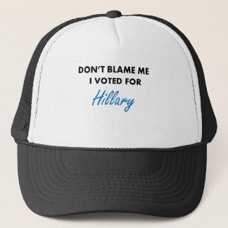 Gorra De Camionero Voté por la ropa de Hillary