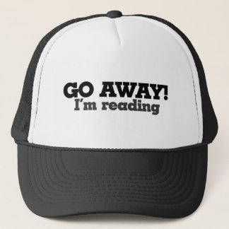 Gorra De Camionero Voy lejos estoy leyendo