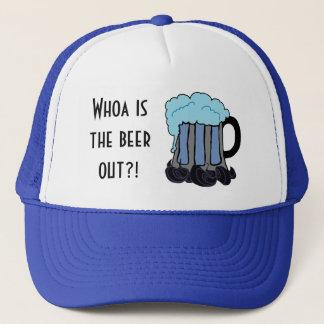 Gorra De Camionero ¡Whoa está la cerveza hacia fuera?!