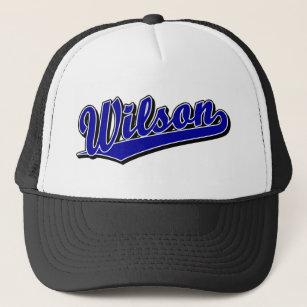 Gorra De Camionero Wilson en azul 1c2539d8943