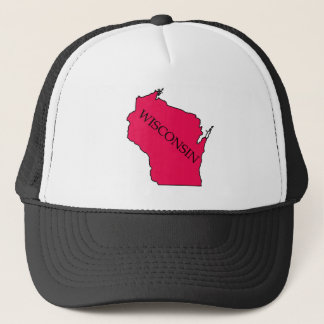 Gorra De Camionero Wisconsin Red Hat
