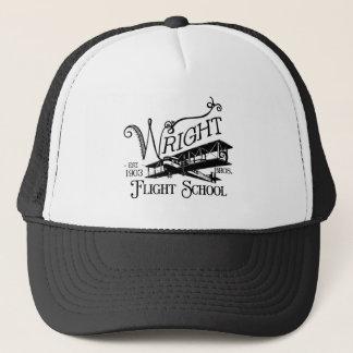 Gorra De Camionero Wright Bros. Escuela del vuelo