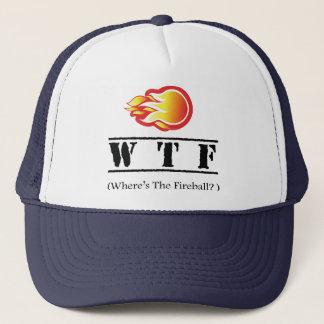 Gorra De Camionero WTF - ¿Dónde está la bola de fuego?