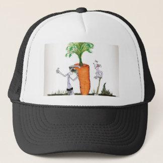 Gorra De Camionero Zanahorias grandes de Yorkshire del amor