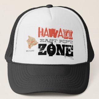 GORRA DE CAMIONERO ZONA DEL ESTE DE LA GRIETA - HAWAII
