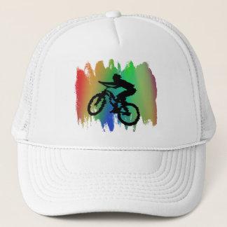 Gorra de ciclo del arco iris