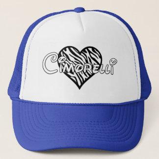 Gorra de Cimorelli - corazón de la cebra