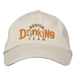 Gorra de consumición del bordado del equipo de gorra de beisbol