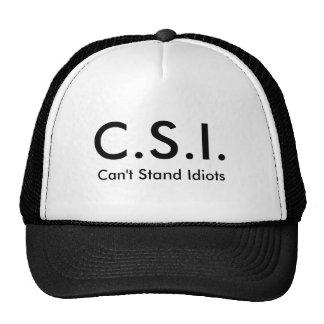 Gorra de CSI