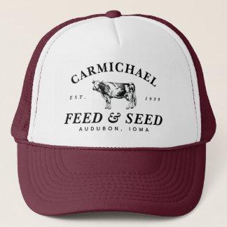 Gorra de encargo del camionero de la alimentación