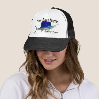 Gorra de encargo del camionero del pez volador del