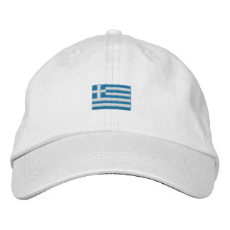 ¡Gorra de Grecia - ΕΛΛΑΣ! Gorra Bordada