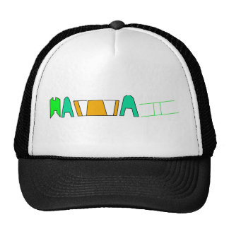 gorra de Hawaii
