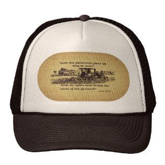 Gorra de Isaías 28 del granjero del vintage