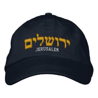 Gorra de Jerusalén - la palabra Jerusalén está en