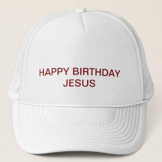 Gorra de Jesús del feliz cumpleaños