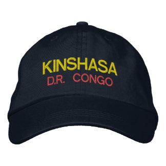 Gorra de Kinshasa - de Congo Emboidred
