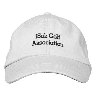 gorra de la asociación del golf del iSuk