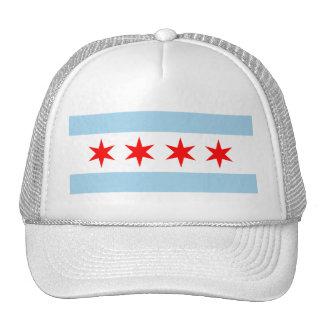 Gorra de la bandera de Chicago