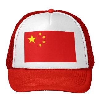 Gorra de la bandera de China
