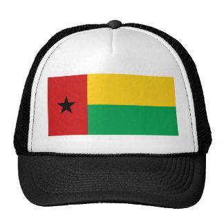 Gorra de la bandera de Guinea-Bissau