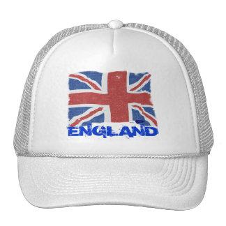 Gorra de la bandera de Inglaterra del vintage