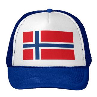 Gorra de la bandera de Noruega