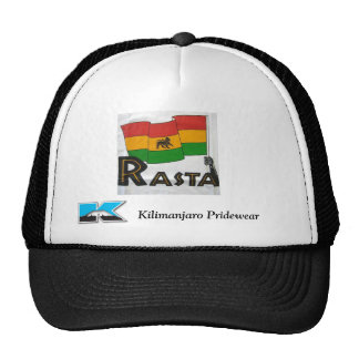 Gorra de la bandera de Rasta