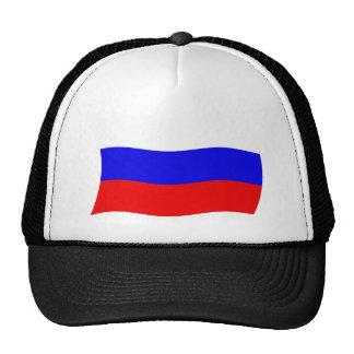 Gorra de la bandera de Rusia