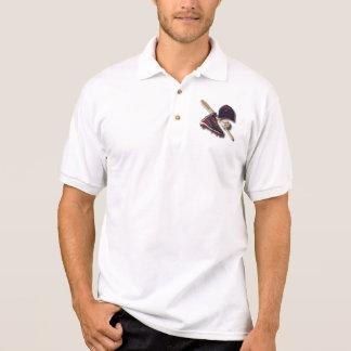 Gorra de la bola de palo del zapato del béisbol camisas polo
