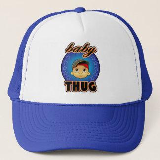 gorra de la cara del bebé del babyTHUG
