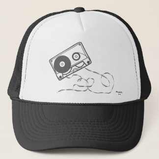 Gorra de la cinta de casete