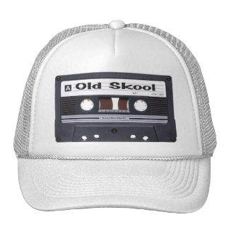 Gorra de la cinta de casete de la escuela vieja