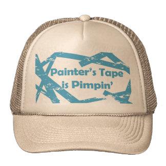 Gorra de la cinta de los pintores