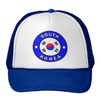 Gorra de la Corea del Sur