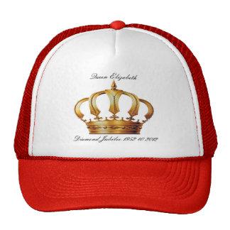 Gorra de la corona de la reina Elizabeth