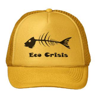 Gorra de la crisis de Eco de la espina de pez