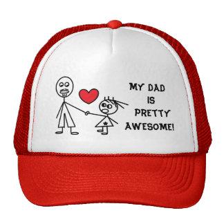 Gorra de la diversión para el PAPÁ de la hija
