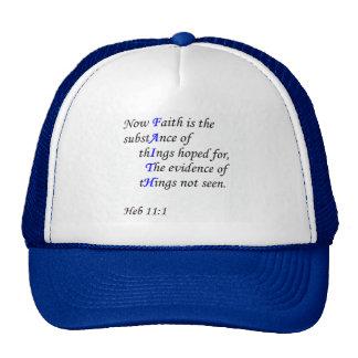 Gorra de la fe - hombres/mujeres
