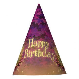 Gorra de la fiesta de cumpleaños de la serenidad