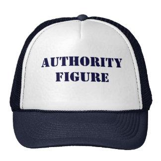 Gorra de la figura de autoridad