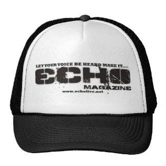 Gorra de la firma del eco