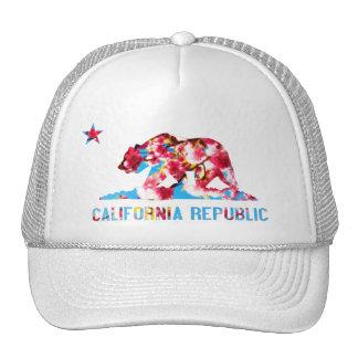 Gorra de la flor de cerezo de la república de