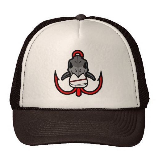 Gorra de la furia de la pesca de la escuela vieja