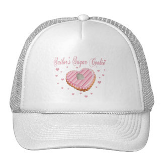 Gorra de la galleta del azúcar del marinero