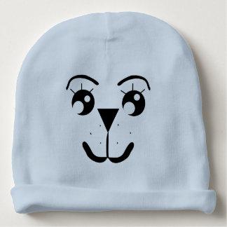 Gorra de la gorrita tejida de la cara del bebé - gorrito para bebe